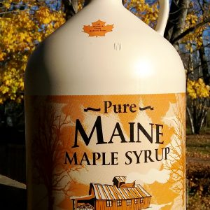 Maple Syrup in Plastic