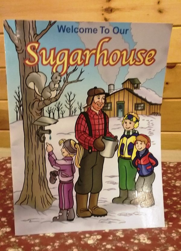 Buy Sugar House Coloring Book At Bot's Sugar Shack